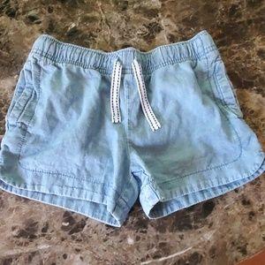 Girls Carter's denim shorts